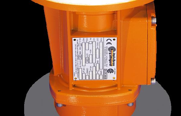 Motovibradores de brida lateral de seguridad aumentada MTF-E